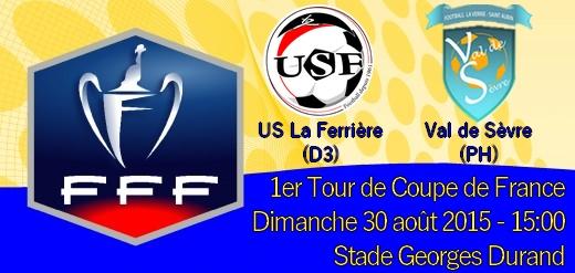 Affiche 1er Tour de Coupe