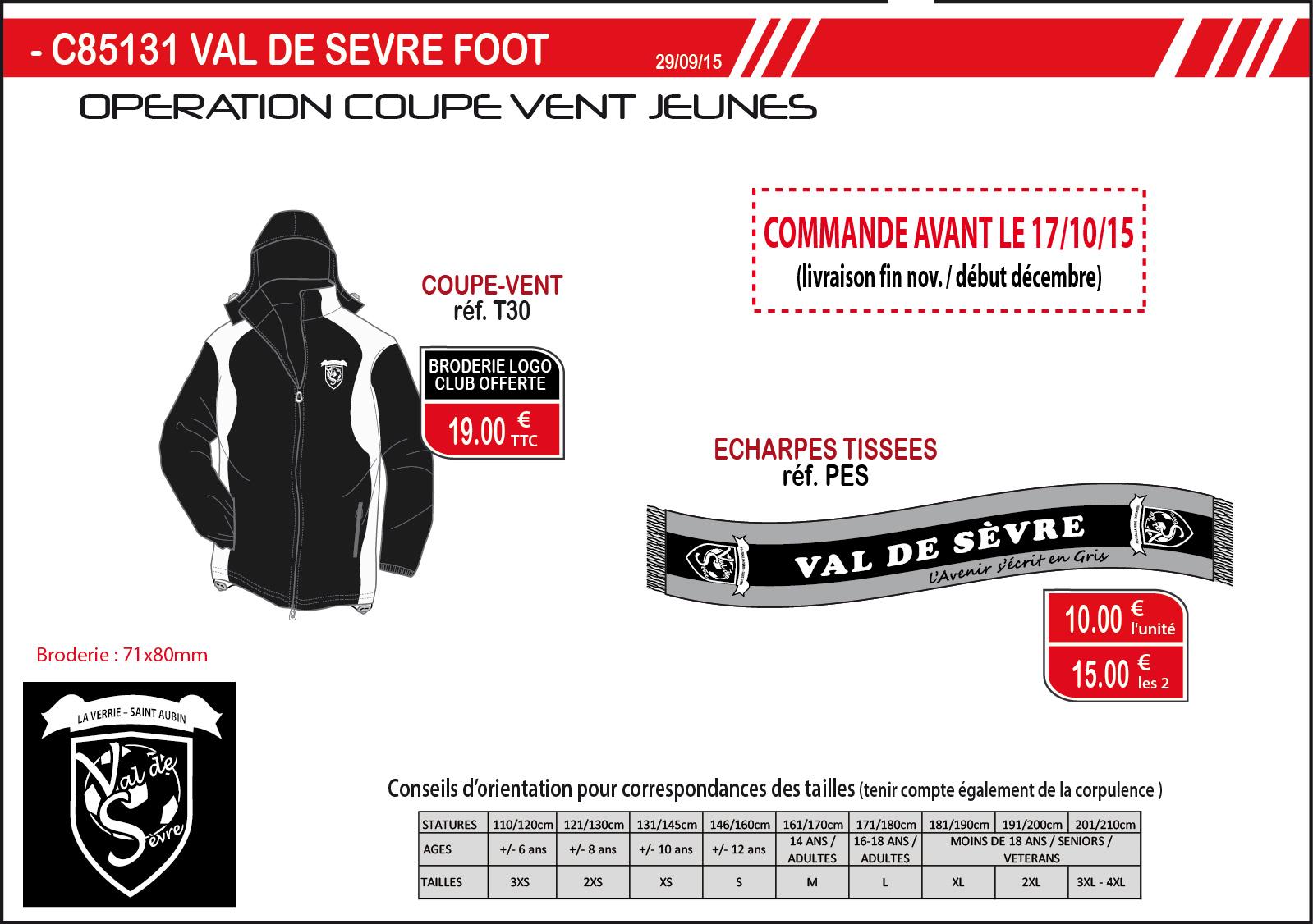 C85131 VAL DE SEVRE FOOT T30