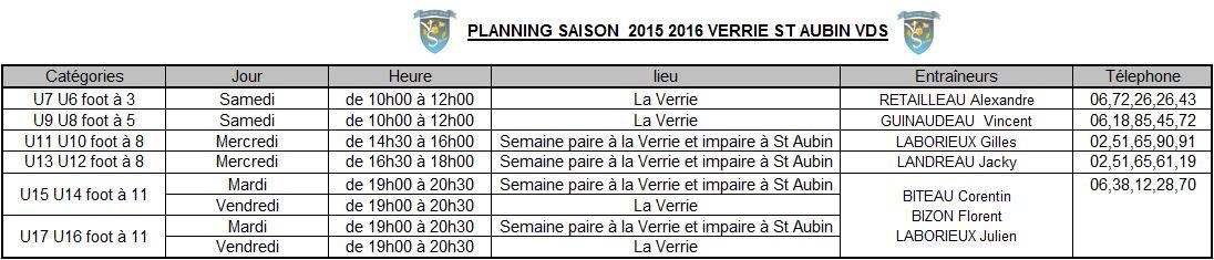 Planning Jeune 1