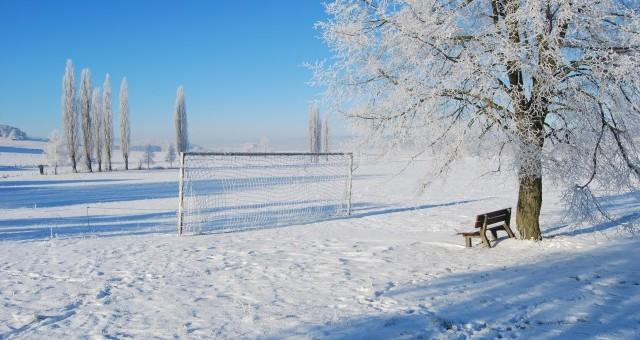 football_winter_goal_frozen_snow