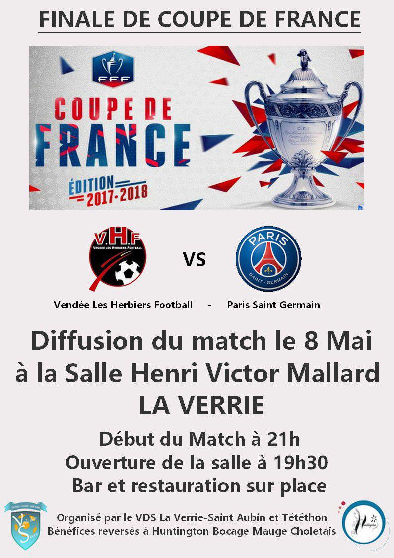 Diffusion finale de coupe de france val de sevre - Diffusion match coupe de france ...