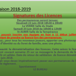 demande de licences