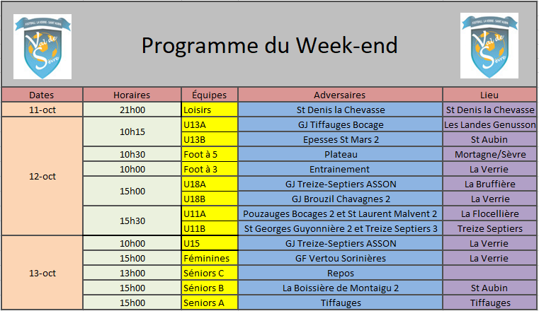 ProgrammeWeekend12-13Oct