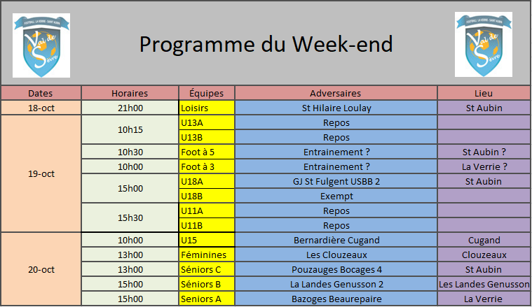 ProgrammeWeekend19-20Oct