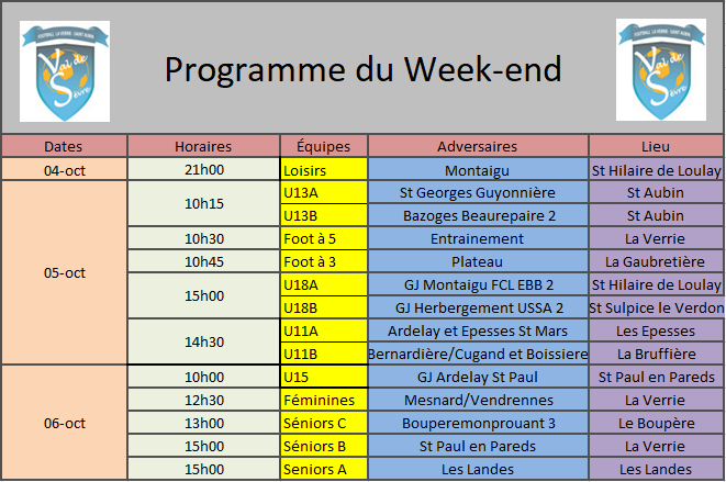 ProgrammeWeekend5-6Oct