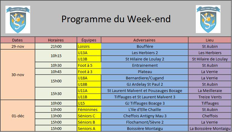 ProgrammeWeekend30-01dec
