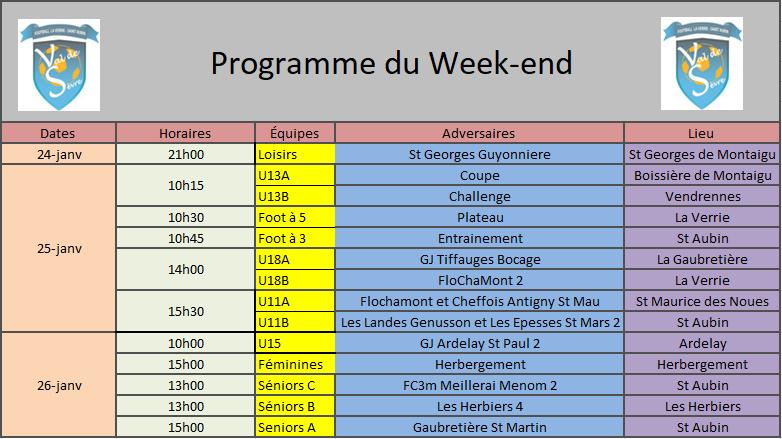 ProgrammeWeekend25-26Jan