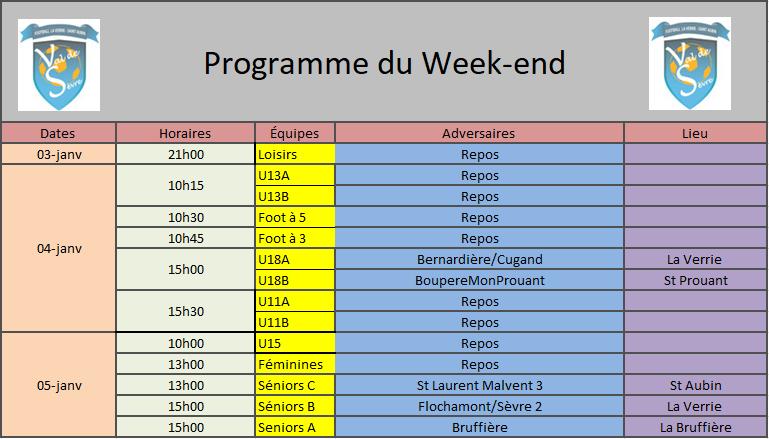 ProgrammeWeekend4-5Jan