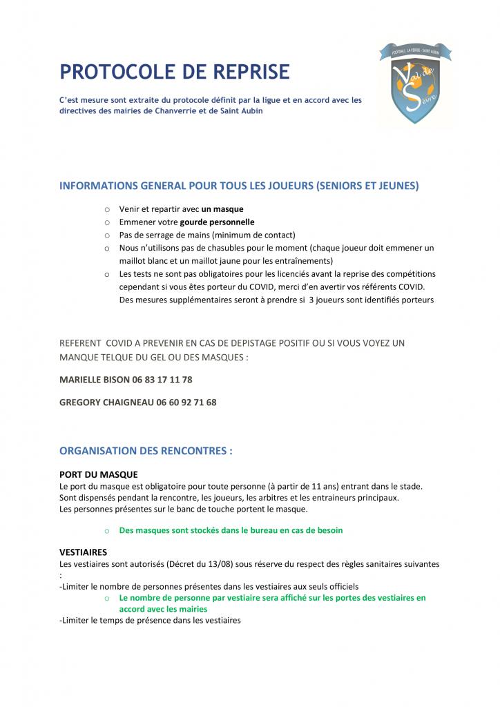 Protocole Officiel VDS-1