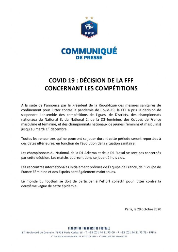 Arrêt competitions